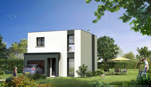 Nos projets mikit for Plan maison 300m2
